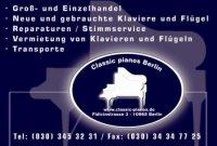 classic pianos Berlin